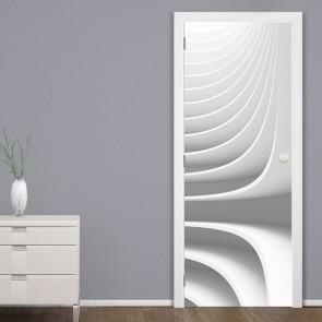 Αυτοκόλλητο Πόρτας Conceptual Architecture Design - Decotek 20116