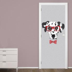 Αυτοκόλλητο Πόρτας Dalmatian Dog - Decotek 20118