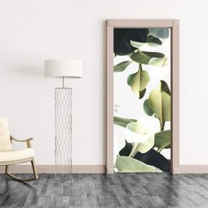 Αυτοκόλλητο Πόρτας Double Exposure Of Plants - Decotek 20121