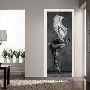 Αυτοκόλλητο Πόρτας In Motion - Decotek 20133