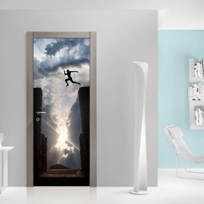 Αυτοκόλλητο Πόρτας Making The Jump - Decotek 20137