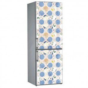 Αυτοκόλλητο Ψυγείου Flowers & Dots - Decotek 19064