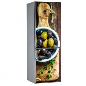 Αυτοκόλλητο Ψυγείου Greek Olives - Decotek 19066