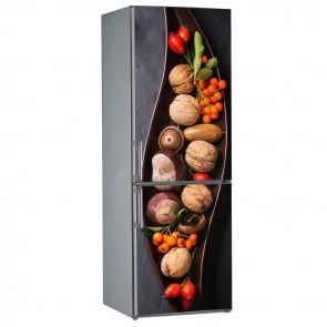 Αυτοκόλλητο Ψυγείου Winter Nuts - Decotek 19086