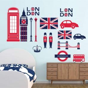 Decotek Vinyl Αυτοκόλλητο Λονδίνο