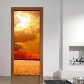 Αυτοκόλλητο Πόρτας Sunset - Decotek 17754