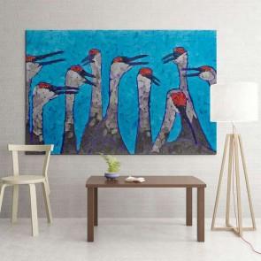 Πίνακας Ζωγραφικής Birds - Decotek 9892