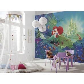 Παιδική Φωτοταπετσαρία Τοίχου Άριελ η Γοργόνα - Komar - Decotek 8-4021