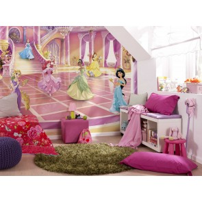 Παιδική Φωτοταπετσαρία Τοίχου Πριγκίπισσες Disney - Komar - Decotek 8-4107