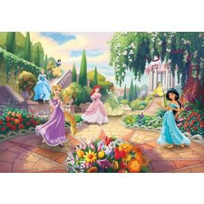 Παιδική Φωτοταπετσαρία Τοίχου Πριγκίπισσες Disney - Komar - Decotek 8-4109