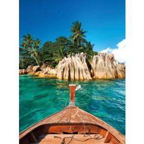 Φωτοταπετσαρία Τοίχου Νησί στις Σεϋχέλλες - W+G - Decotek D-NW4003-4