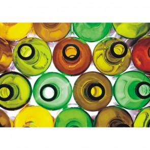 Φωτοταπετσαρία Τοίχου Μπουκάλια - A&G Design Group - Decotek FT 0318