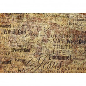 Φωτοταπετσαρία Τοίχου Φράσεις & Γράμματα - A&G Design Group - Decotek FT 0330