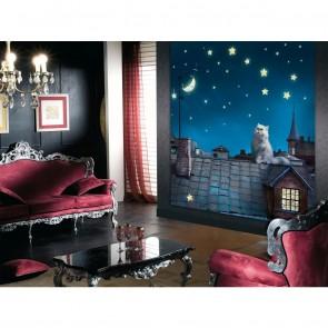 Φωτοταπετσαρία Τοίχου Γάτα - A&G Design Group - Decotek FTL 1626