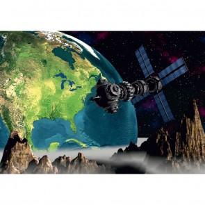 Φωτοταπετσαρία Τοίχου Διάστημα - A&G Design Group - Decotek FTS 0094