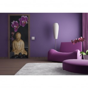Φωτοταπετσαρία Πόρτας & Τοίχου Βούδας - A&G Design Group - Decotek FTV 0005