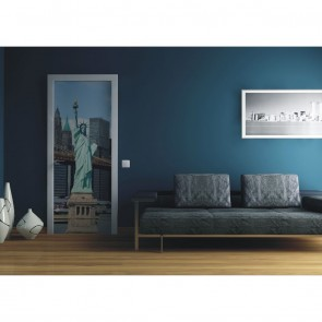 Φωτοταπετσαρία Πόρτας & Τοίχου Νέα Υόρκη - A&G Design Group - Decotek FTV 0224
