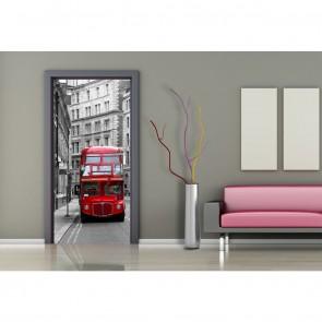 Φωτοταπετσαρία Πόρτας & Τοίχου Λονδίνο - A&G Design Group - Decotek FTV 1512