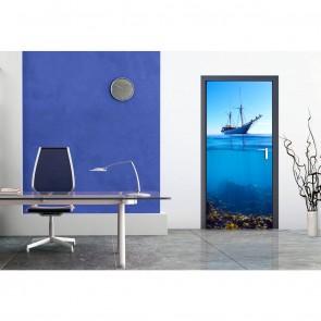 Φωτοταπετσαρία Τοίχου Καράβι και Βυθός - A&G Design Group - Decotek FTV 1513