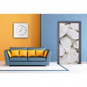 Φωτοταπετσαρία Πόρτας & Τοίχου Πέτρα Θαλάσσης - A&G Design Group - Decotek FTV 1522