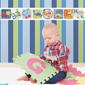 Παιδική Ταπετσαρία Τοίχου Ρίγα - Galerie, Tiny Tots  - Decotek G45101