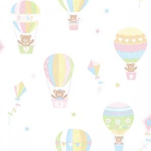 Παιδική Ταπετσαρία Τοίχου Αερόστατο - Galerie, Tiny Tots - Decotek G45133