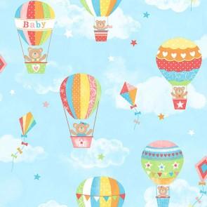 Παιδική Ταπετσαρία Τοίχου Αερόστατο - Galerie, Tiny Tots - Decotek G45134