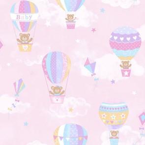 Παιδική Ταπετσαρία Τοίχου Αερόστατο - Galerie, Tiny Tots - Decotek G45135