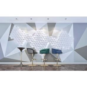 3D Πάνελ - 3D Art Panel - Decotek Hexagon