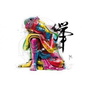 Φωτοταπετσαρία Τοίχου Πολύχρωμος Βούδας - 1wall - Decotek NW8P-BOUDDHA-001