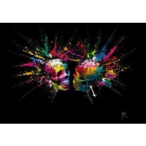 Φωτοταπετσαρία Τοίχου Πολύχρωμοι Εραστές - 1wall - Decotek NW8P-LOVERS-001
