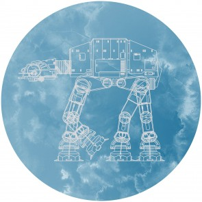 Παιδική Φωτοταπετσαρία Τοίχου Star Wars - Komar, DOT - Decotek DD1-025 (Ø 125 cm)