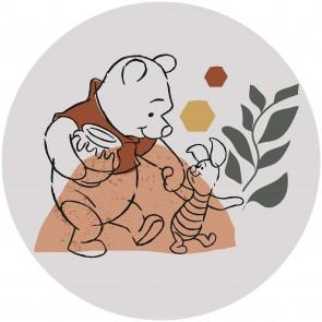 Παιδική Φωτοταπετσαρία Τοίχου Γουίνι το Αρκουδάκι - Komar, DOT - Decotek DD1-036 (Ø 125 cm)