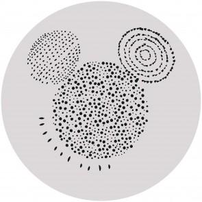 Παιδική Φωτοταπετσαρία Τοίχου Μίκυ- Komar, DOT - Decotek DD1-040 (Ø 125 cm)