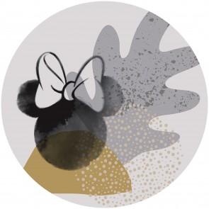 Παιδική Φωτοταπετσαρία Τοίχου Μίνι Μάους- Komar, DOT - Decotek DD1-041 (Ø 125 cm)