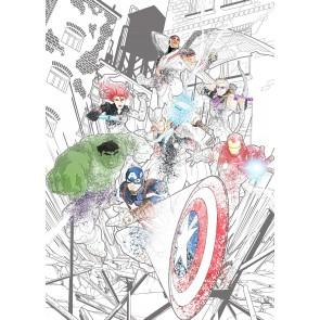 Komar Non Woven Photomural Avengers Attack