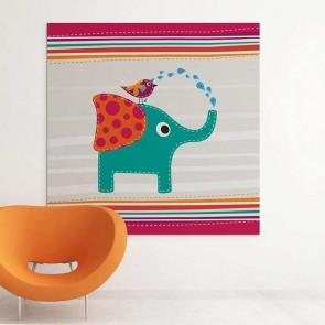 Παιδικός Πίνακας Ζωγραφικής Elephant - Decotek 16000