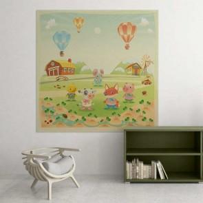 Παιδικός Πίνακας Ζωγραφικής Animals Farm - Decotek 16004
