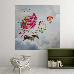 Παιδικός Πίνακας Ζωγραφικής Dreamy Sky - Decotek 16006