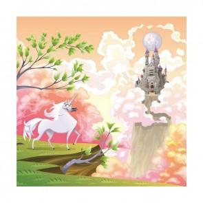 Παιδικός Πίνακας Ζωγραφικής Fairy Castle - Decotek 16007