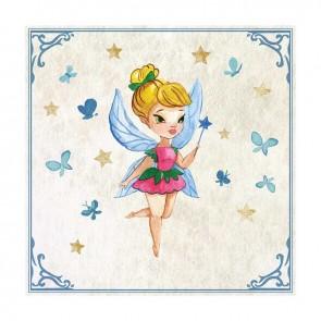 Παιδικός Πίνακας Ζωγραφικής Fairy - Decotek 16008