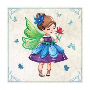 Παιδικός Πίνακας Ζωγραφικής Fairy Girl  - Decotek 16009