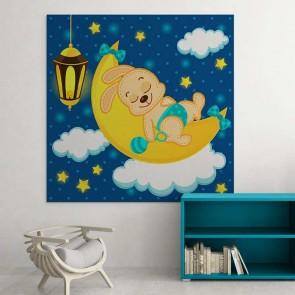 Παιδικός Πίνακας Ζωγραφικής Sleeping Animal - Decotek 16016