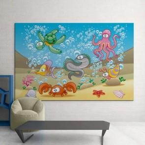 Παιδικός Πίνακας Ζωγραφικής Seabed - Decotek 16019