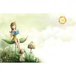 Παιδικός Πίνακας Ζωγραφικής Fairy Girl  - Decotek 16021