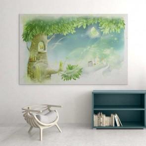 Παιδικός Πίνακας Ζωγραφικής Fairy Tree -Decotek 16023