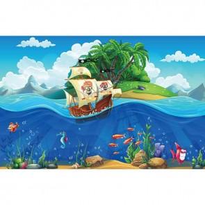 Παιδικός Πίνακας Ζωγραφικής Pirate Ship - Decotek 16024