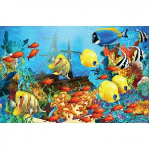 Παιδικός Πίνακας Ζωγραφικής Sea Life - Decotek 16027