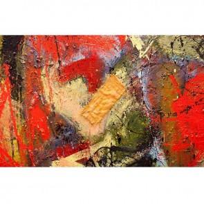 Πίνακας Ζωγραφικής Abstract Red