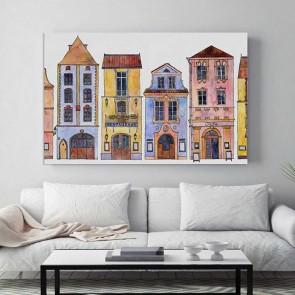 Πίνακας Ζωγραφικής Fantastic Houses